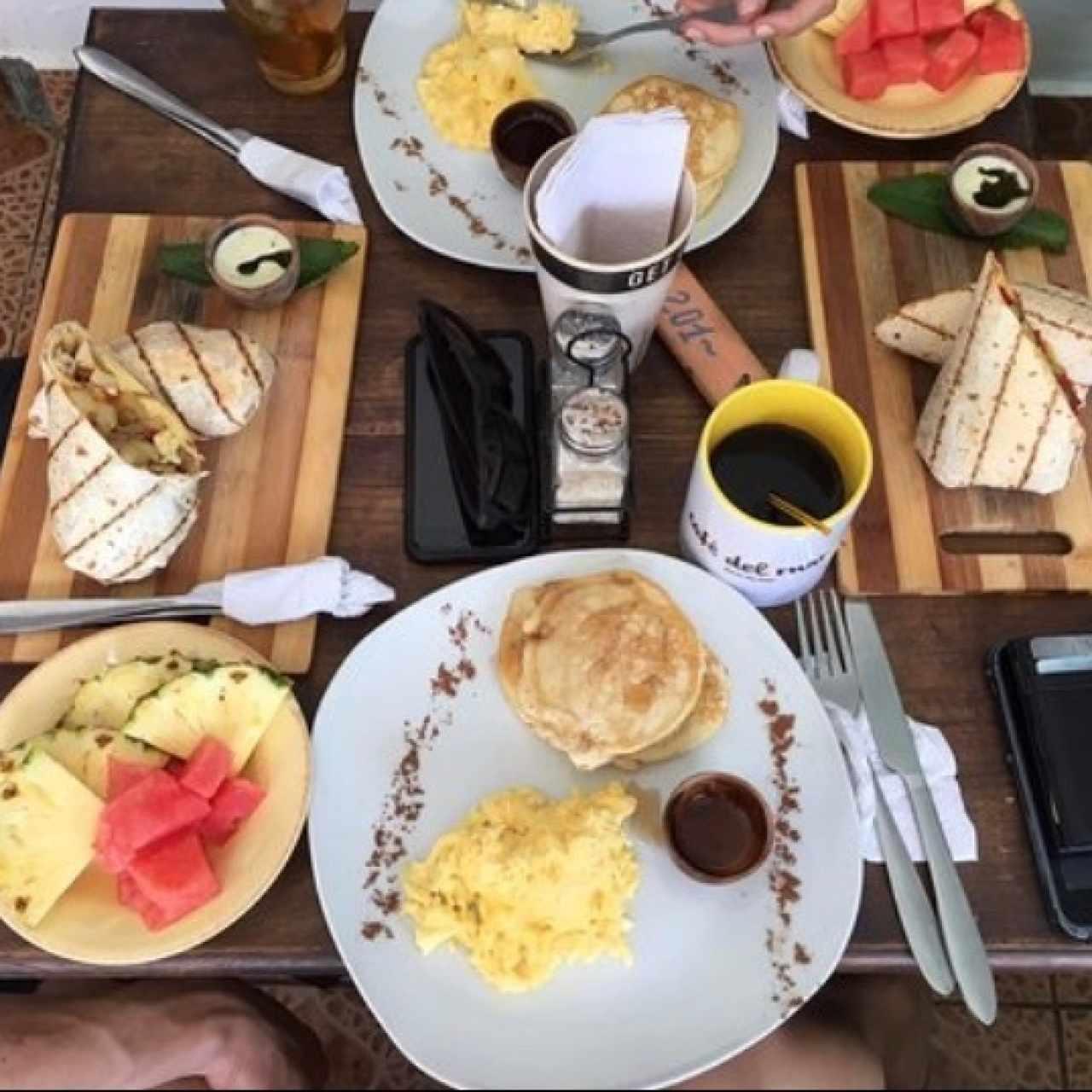 Café del Mar comidas