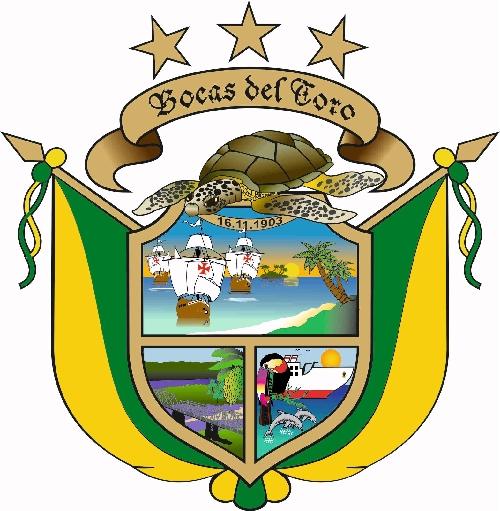 escudo de la provincia de bocas del toro