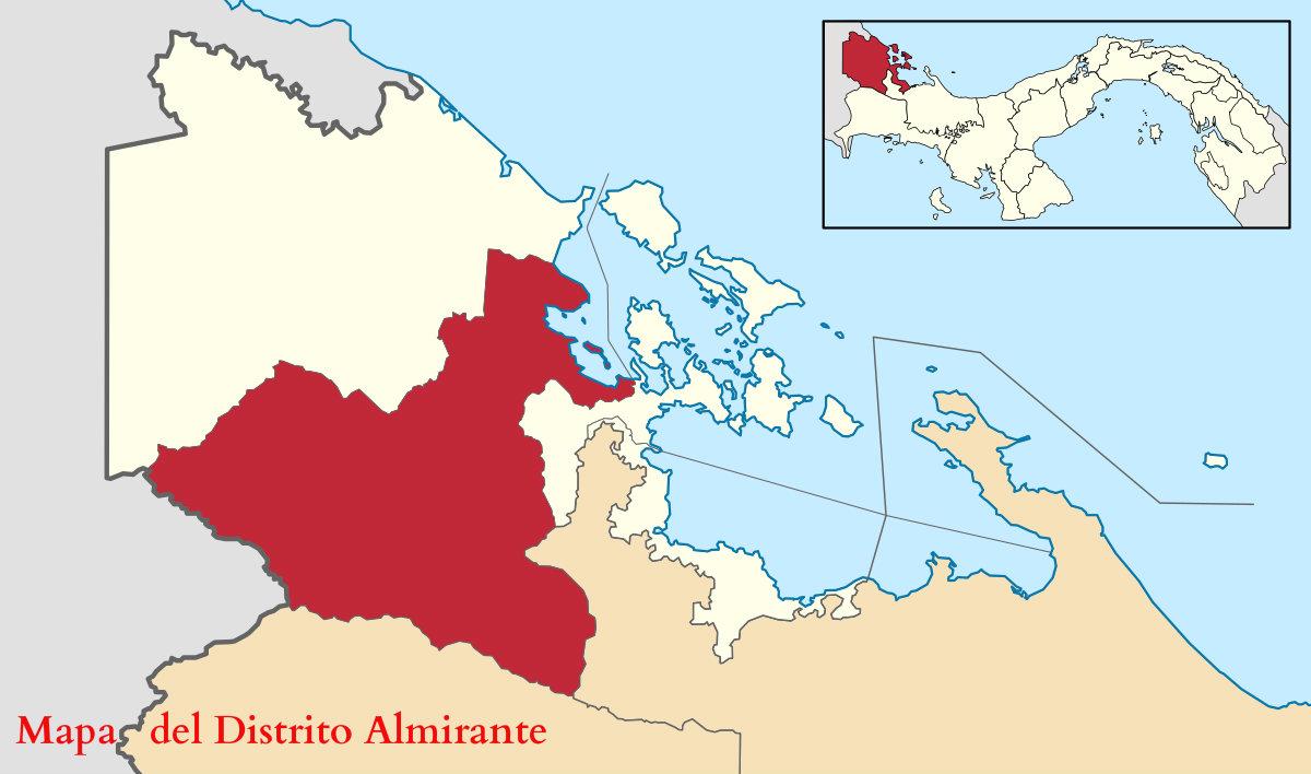 almirante mapa