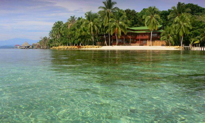 Isla Carenero bocas del toro Panamá